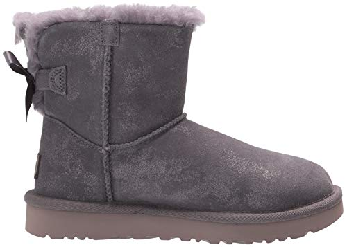 UGG Women's Mini Bailey Bow Ii Shimmer Ankle Boot