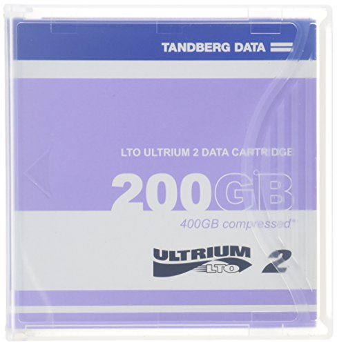 Tandberg 200/400GB LTO Ultrium2 Tape Cartridge (Discontinued by Manufacturer)