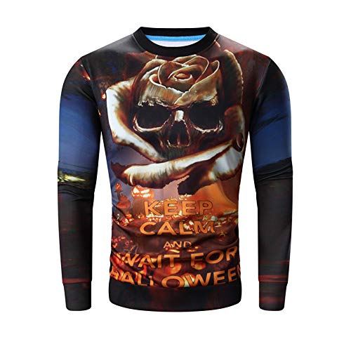 GMYANWY and Winter Halloween Costume 3D Printing Men's Sweater]()