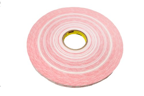 3M Adhesive Transfer Tape Extended Liner 920XL Translucent, 1 in x 1000 yd 1.0 mil (Case of 9)