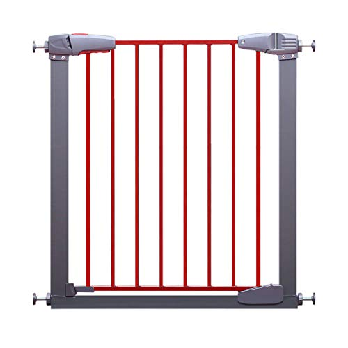 Baby Gate Wide Easy-Close Baby Gate Stair Safety Gate Multi-Directional Swing gate Ideal for doorways or Between Rooms Easy Swing & Lock Stair Gate (Size : Width 152-157cm)