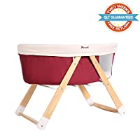 Sdadi&Pouch Joined Brand Folding Bassinet Sleeper, Crib And Cradle 2 in 1 (Re...