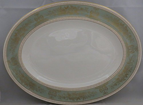 Wedgwood Columbia-Sage Green Rim 15