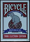 Bicycle 2008 Election Political Republican Elephant Playing Cards