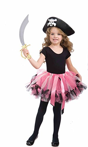 (Forum Pirate Child Tutu Costume, Pink)