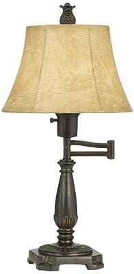 Bronze Finish Swing Arm Lamp by Regency Hill
