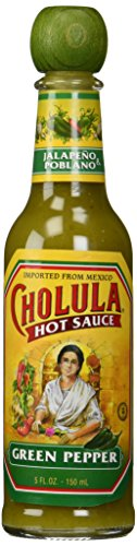 Cholula Green Pepper Hot Sauce, 5 Fl -