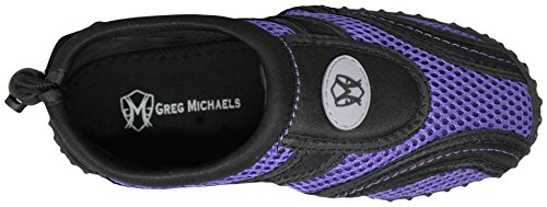 Womens Water Shoes | Water Shoes For Women by Greg Michaels Black / Purple Iii UCzEF