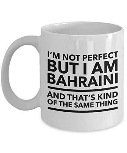 Bahraini Mug - I'm not perfect but I am Bahraini and that's kind of the same thing - Bahraini Coffee Mug - Bahrain - Mug Bahrain
