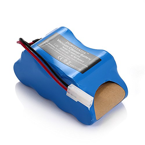 Powerextra 7.2V 3000mAh Ni-MH Battery Compatible with Shark Vacuum V1950 and VX3 Replaces ()