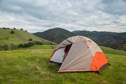 ALPS Mountaineering Lynx 4 Tent, Brown/Orange