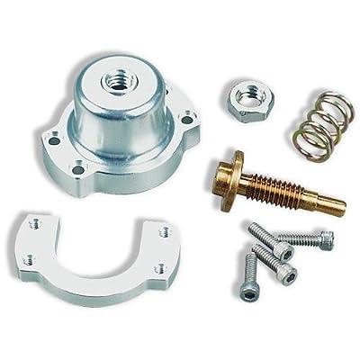 B&M 46057 CommandFlo Adjustable Fuel Pressure Modifier with Silver Aluminum Case