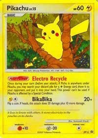 Pokemon - Pikachu – DP16 – Promotional (DP16) - Diamond and Pearl Black Star Promos - Holo