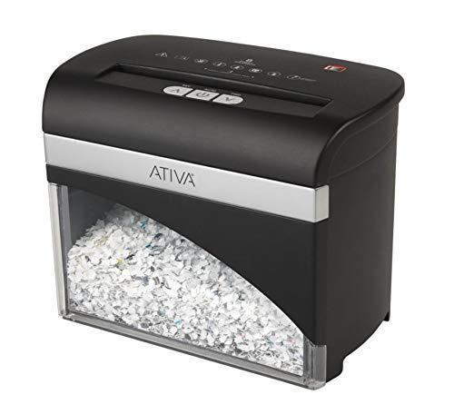 Ativa 8 Sheet Micro-Cut Desktop Shredder, OMM83H by ATIVA (Image #1)
