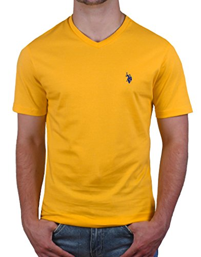 mens-us-polo-assn-basic-v-neck-tee-s-cape-yellow