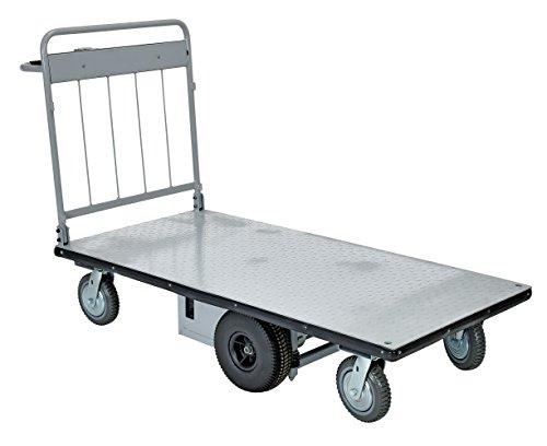 """Vestil EMHC-2860-1 Electric Material Handling Cart, 28"""" x..."""