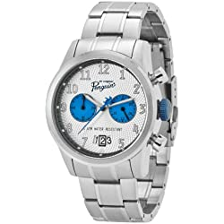 Original Penguin Men's OP3033BL Mickey Silver Chronograph Watch