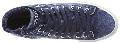 Femme navy Hautes Replay Baskets Bleu Edna SXxqnTYEwt