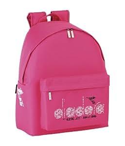 Diadora - Mochila liso, color rosa (Safta 641409774)