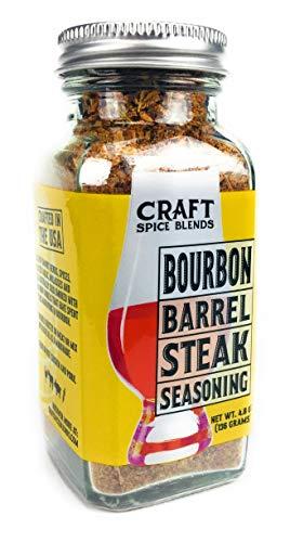 Bourbon Barrel Steak Seasoning - Craft Spice Blends - 4.8oz