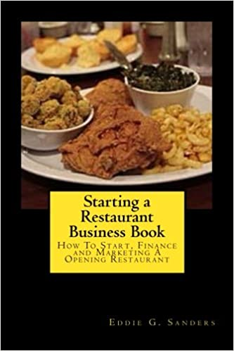 Starting A Restaurant Business Book How To Start Finance
