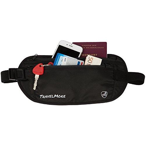 Blocking Travel Wallet Zipper Compartments