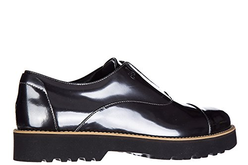 Formal Women's Silver Elastico Classic Route Hogan restyling Leather Shoes h259 71twxAHx