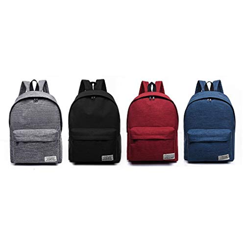 Large Shoulder Black Capacity Teenagers Hiking Casual Sunnyday Student Canvas School Woman Man Travel Outdoor Bag Bags Style Backpack AxnxBTvp