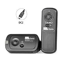 PIXEL RW221 DC2 Wireless Shutter Release Timer Remote Control for Nikon D7200, D7500, D7200, D7000, D5600, D5500, D5300, D5200, D5100, D5000, D3300, D3200, D3100, D750, D610, D600, D90, DF