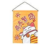 Blancho Bedding Restaurant Decoration Japanese Sushi Bar Curtain for Hotel Decorative Hanging Flag #13