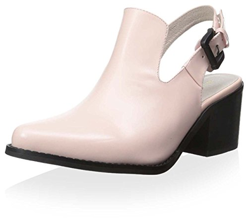 Intentionally Blank Women's Pill Box Leather Slingback Pink