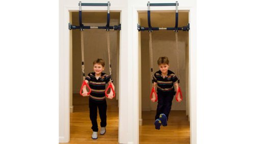 Gym1 Indoor Playground with Indoor Swing, Plastic Rings, and Climbing Ladder by Gym1 (Image #3)