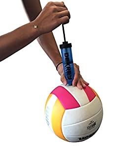 DeKe Sports 8-Inch Ball Pump for Any Sports Ball, Soccer Ball, Football, Volleyball, Basketball by DeKrey Sports
