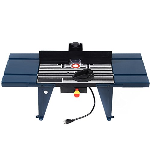 Aluminum Router Table Routing Wood Working Tool Benchtop (Precision Benchtop Router Table)