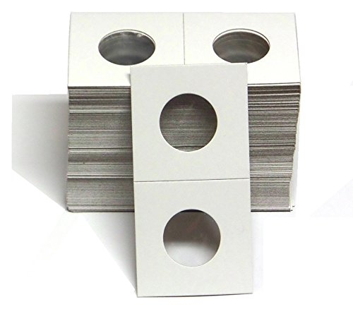 1-100 Pack of 2x2 Quarter Coin Cardboard Holder - 41htFQ5dUsL