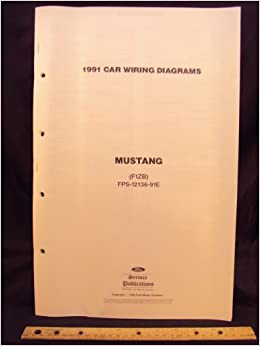 1991 ford mustang electrical wiring diagrams / schematics: ford motor  company: amazon com: books