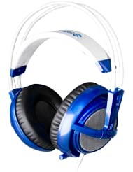 赛睿 SteelSeries Siberia V2 Full-Size 西伯利亚游戏耳机 蓝色 $49.99