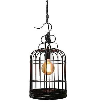 HBLJ Voliere Glanz, Eisen Kronleuchter, Tisch Retro Esszimmer Balkon Shop Restaurant Glanz Lichter Kopf Dekoration Einfache E