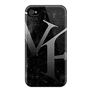 Iphone 4/4s UZV12854CLiS Support Personal Customs Realistic Papa Roach Image Best Hard Phone Cover -PhilHolmes