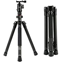 "Fotopro 48"" Portable Camera Tripod, Lightweight and Flexible Travel Tripod Stand for SLR and DSLR Cameras Nikon Canon Sony Samsung Olympus Panasonic with Carry Bag"