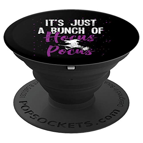 Halloween Hocus Pocus Pop Socket - Witch Salem Costume Gift - PopSockets Grip and Stand for Phones and Tablets ()