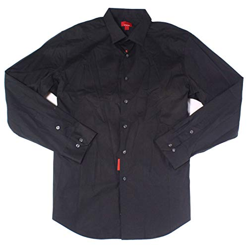 Alfani Mens Spectrum Slim Fit Stretch Dress Shirt Black - Shirt Dress Mens Alfani