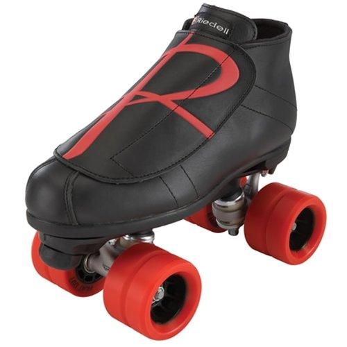 Riedell Hybrid Jam Skates - Riedell Hybrid Black & Red Derby Skates