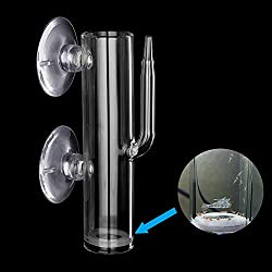 Cobella Aquarium Fish Egg Incubator Crystal Glass Shrimp Fish Tumbler Hatching Breeding Incubator with Air Valve