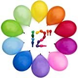WinkyBoom Assorted Color 12 Inch 100 Pcs Helium Quality Latex For Party Decoration