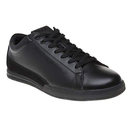 (Versace Jeans Cupsole Lace Mens Sneakers Black)