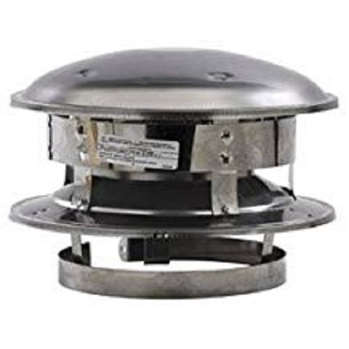 Selkirk Metalbestos Chimney - Selkirk Sure-Temp Type Ht Round Top, 7