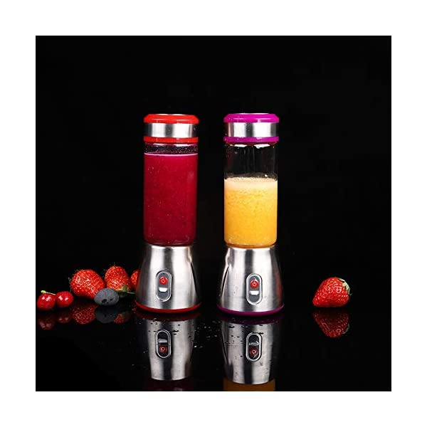 Mini frullatore elettrico ricaricabile portatile frullatore frullatore tazza spremiagrumi spremiagrumi limone frutta… 5 spesavip