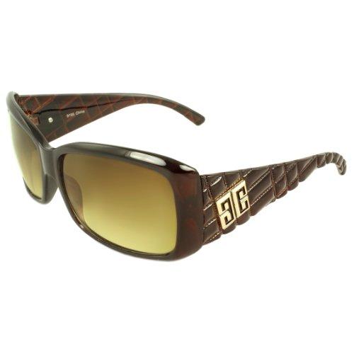 MLC EYEWEAR ® TU9195-BUGAM Urban Rectangle Fashion Sunglasses Burgundy Frame Amber - Michael Sunglasses Jacobs
