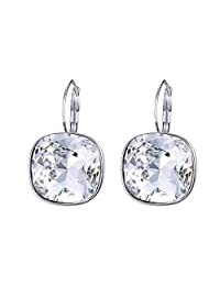 Xuping Halloween Fashion Crystals from Swarovski Huggies Hoop Earrings Black Friday Women Jewelry Gifts